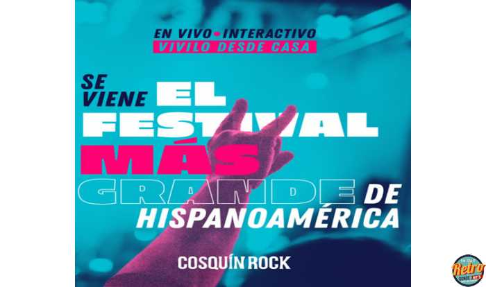 Cosquín Rock vía streaming